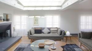 Noir blanc bois julie nabucet architectures - Creer un appartement ...